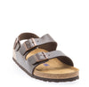 Mens Milano Soft Footbed Brown Amalfi Leather