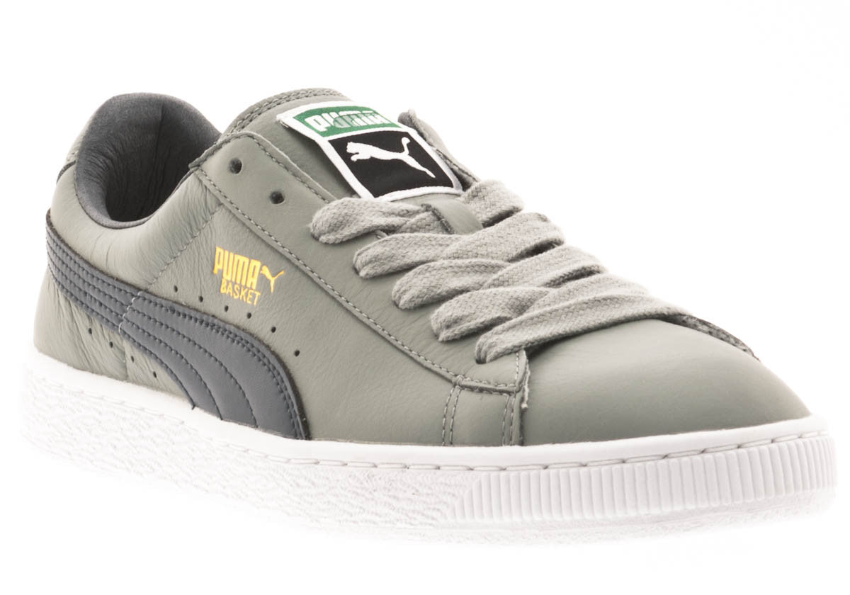 BASKET CLASSIC LFS GREY LO LACE UP