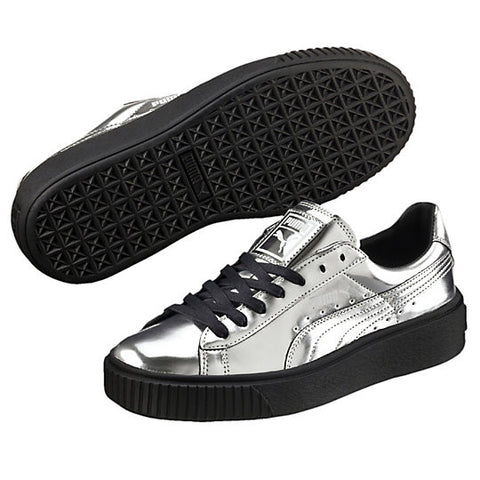 BASKET CREEPER METALLIC SILVER/BLK