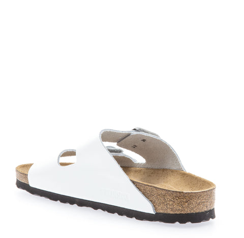 Womens Arizona Soft Footbed White Patent Leather