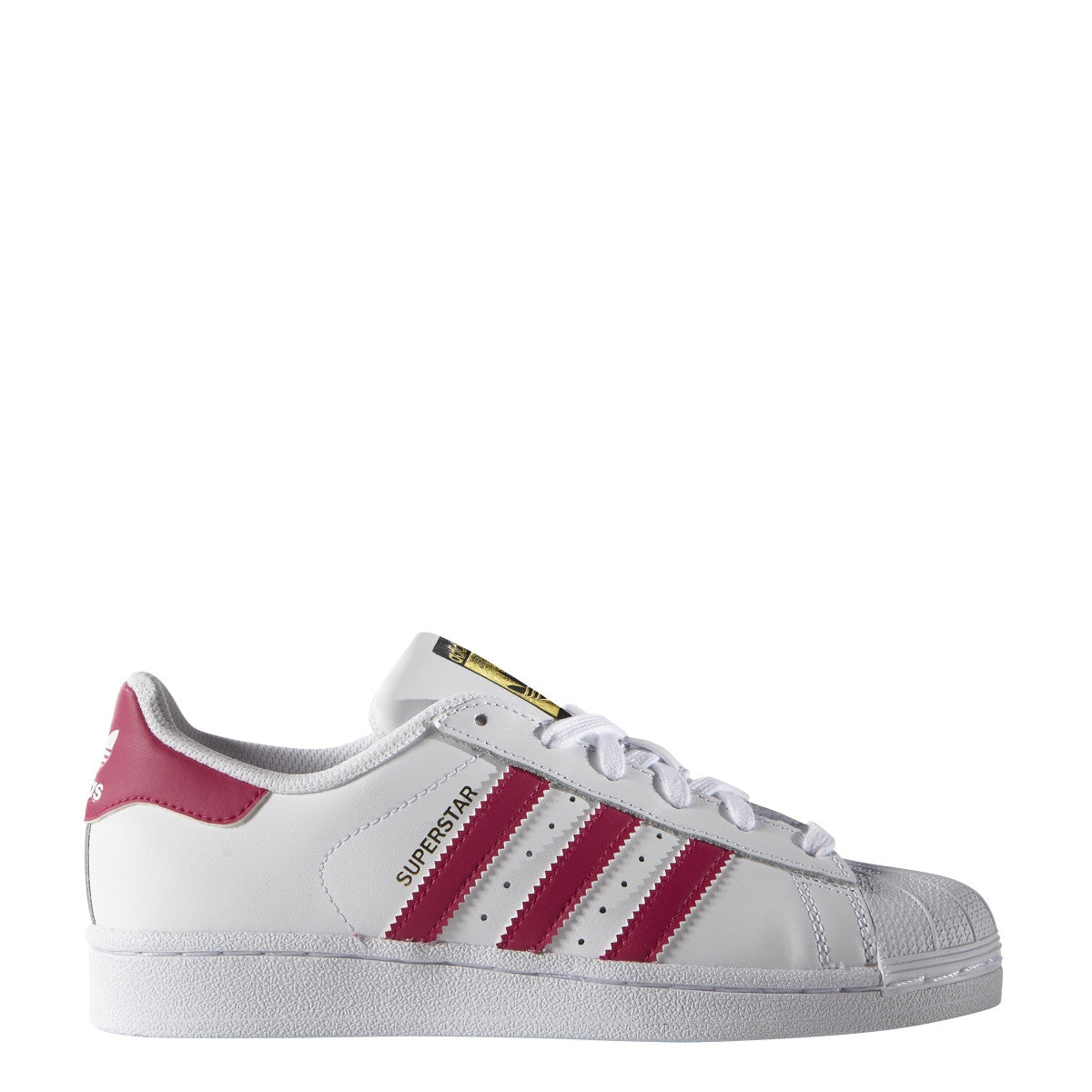 Kids Superstar Foundation White/Pink