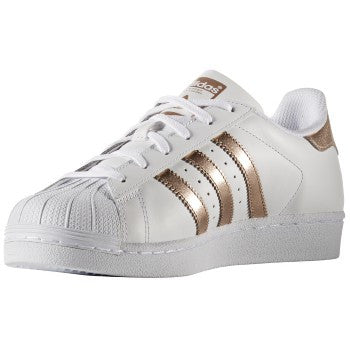 W SUPERSTAR METALLIC WHITE GOLD