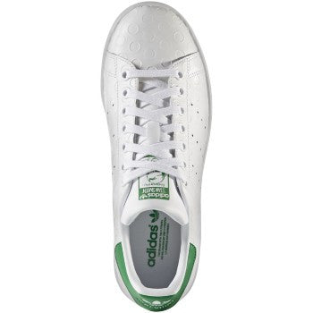 W STAN SMITH WHT/WHT/GRN