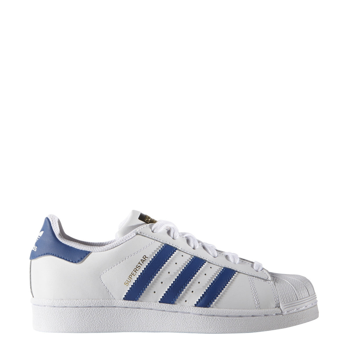 Kids Superstar White/Blue