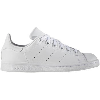 STAN SMITH WHT/WHT  LTHR LO LACE UP