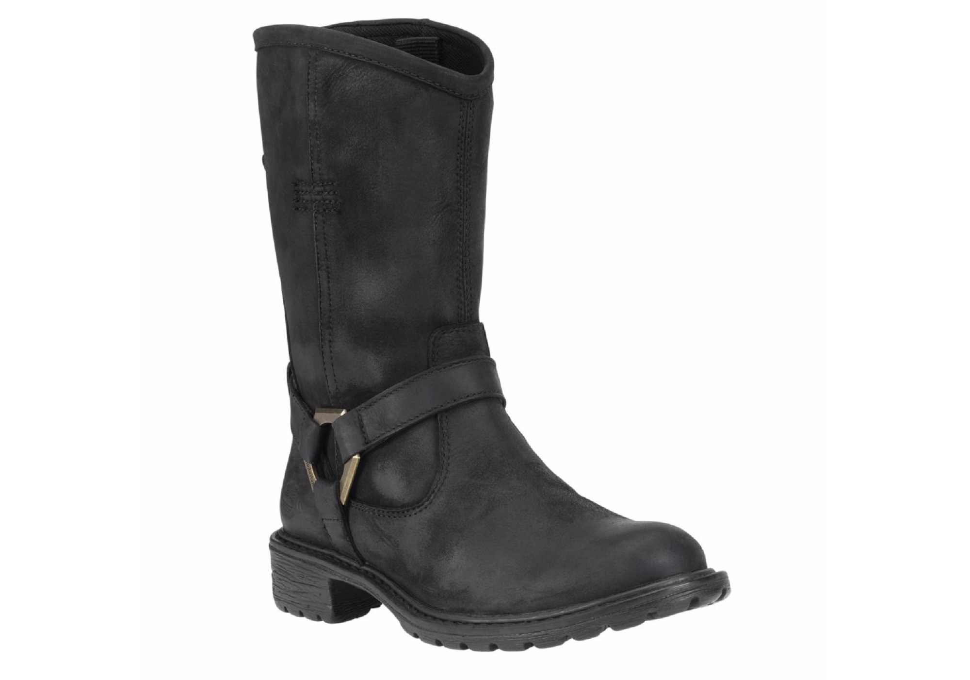 Womens Stoddard Mid Biker Waterproof Boot