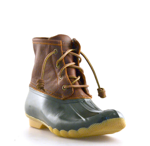 Saltwater Leather Duck Boots