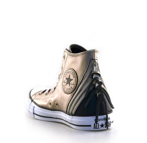 Womens Chuck Taylor Tri Zip High Top Sneaker