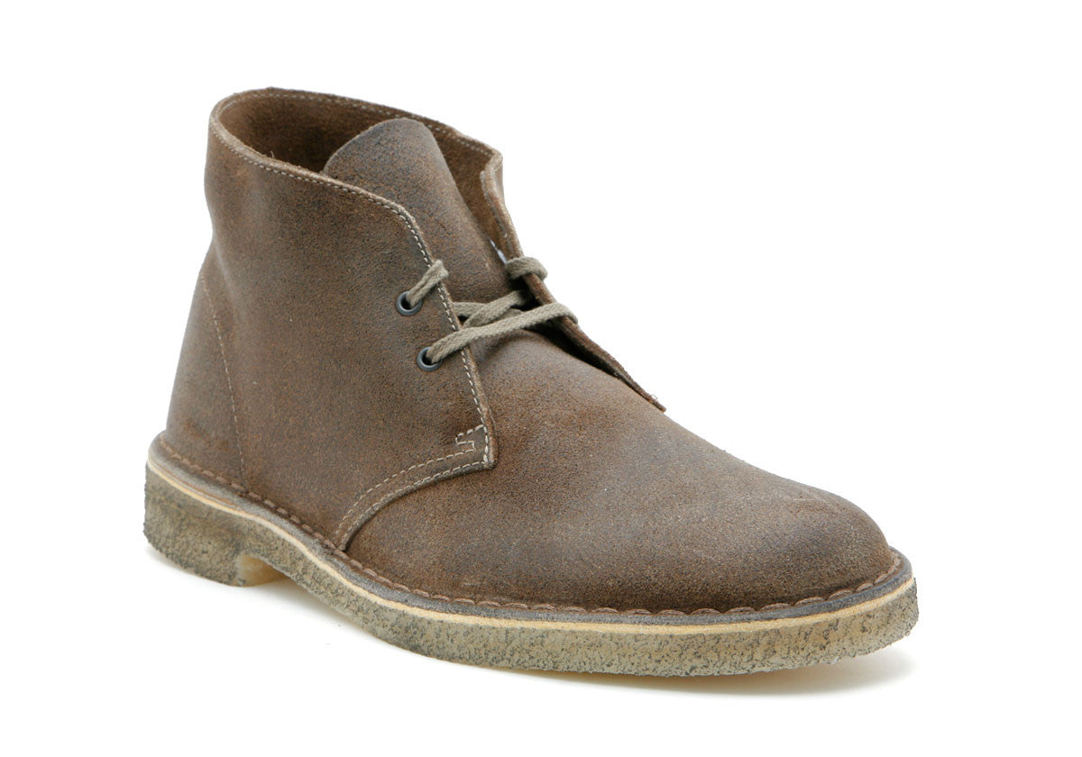 Mens Desert® Boot Taupe Distressed