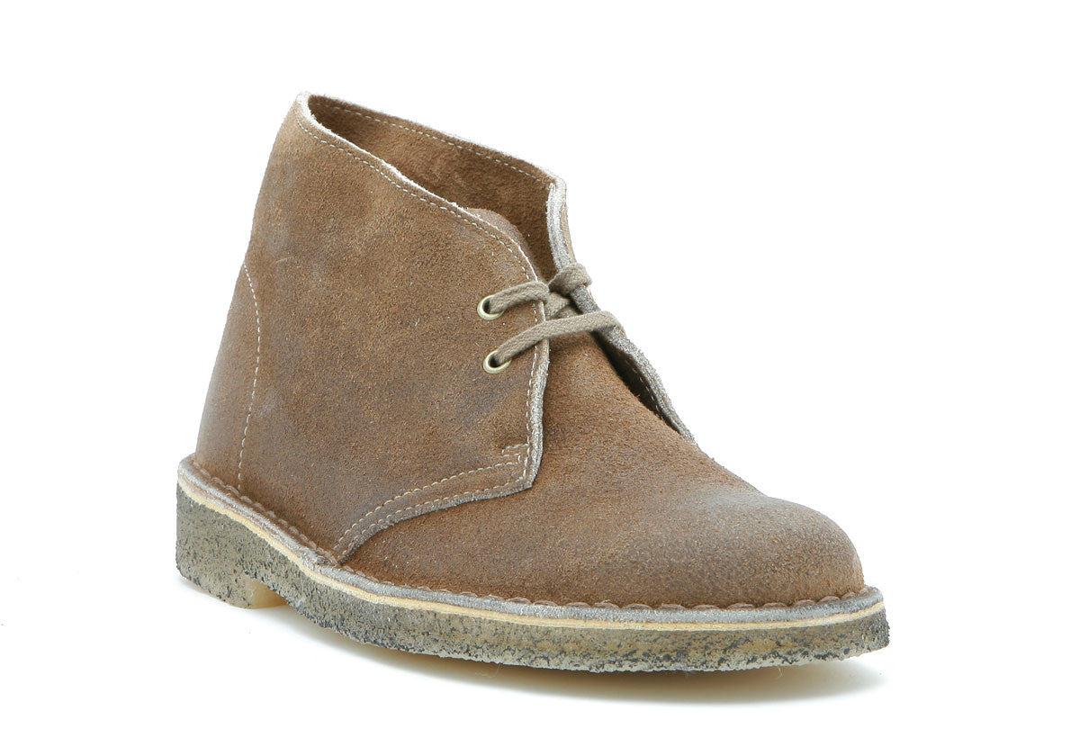 Women`s Desert® Boot Taupe Distressed Leather