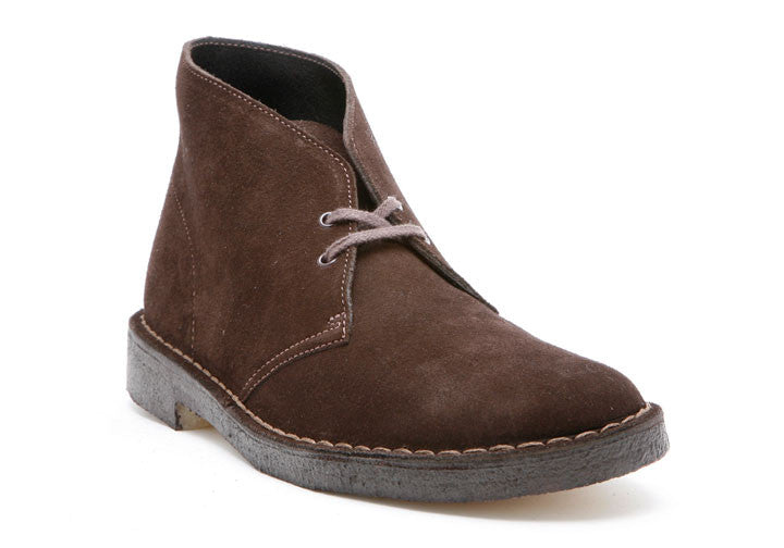 Mens Desert® Boot Brown Suede