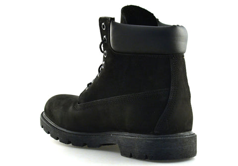 6 inch Basic Black Nubuck