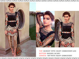 Georgette Heavy Embroidered Designer Party Wear Pakistani Style Suit