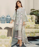 Net with Heavy Embroidery Work Unstitched Party Wear Pakistani Suits