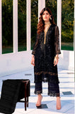 Black Color Butterfly Net Heavy Embroidered Designer Party Wear Pakistani Style Suit