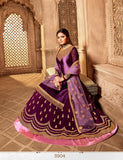 Fabulous Party Wear Designer Satin Georgette Lehenga Style Suit 3904