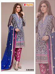 Rosemeen Festive Pakistani Designer Heavy Embroidered Suit 043