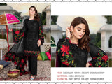 Black Color Georgette Heavy Embroidered Designer Party Wear Pakistani Style Suit