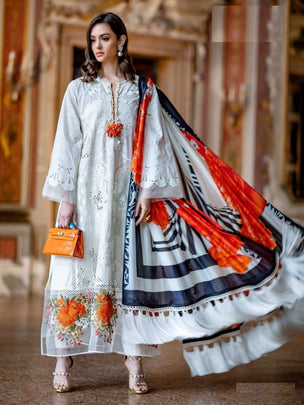 Mariya B Lawn Cotton Designer Pakistani Wear