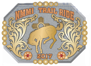 Trail Ride Belt Buckle