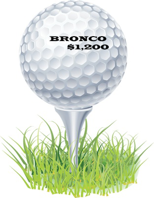 General's Cup Bronco Level Sponsor $1,200