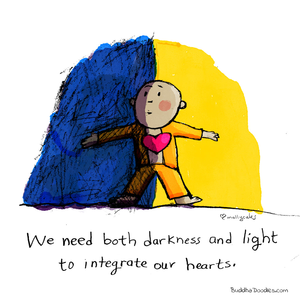 Today's Doodle: Darkness and Light