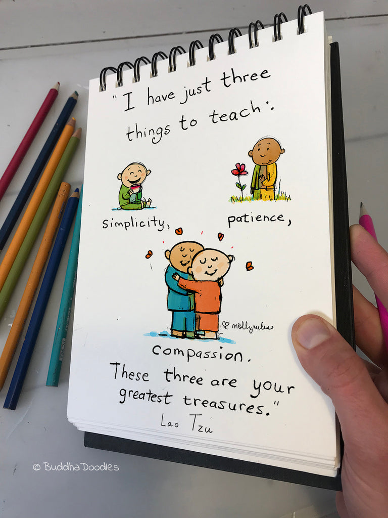 Today's Doodle: These Three Things