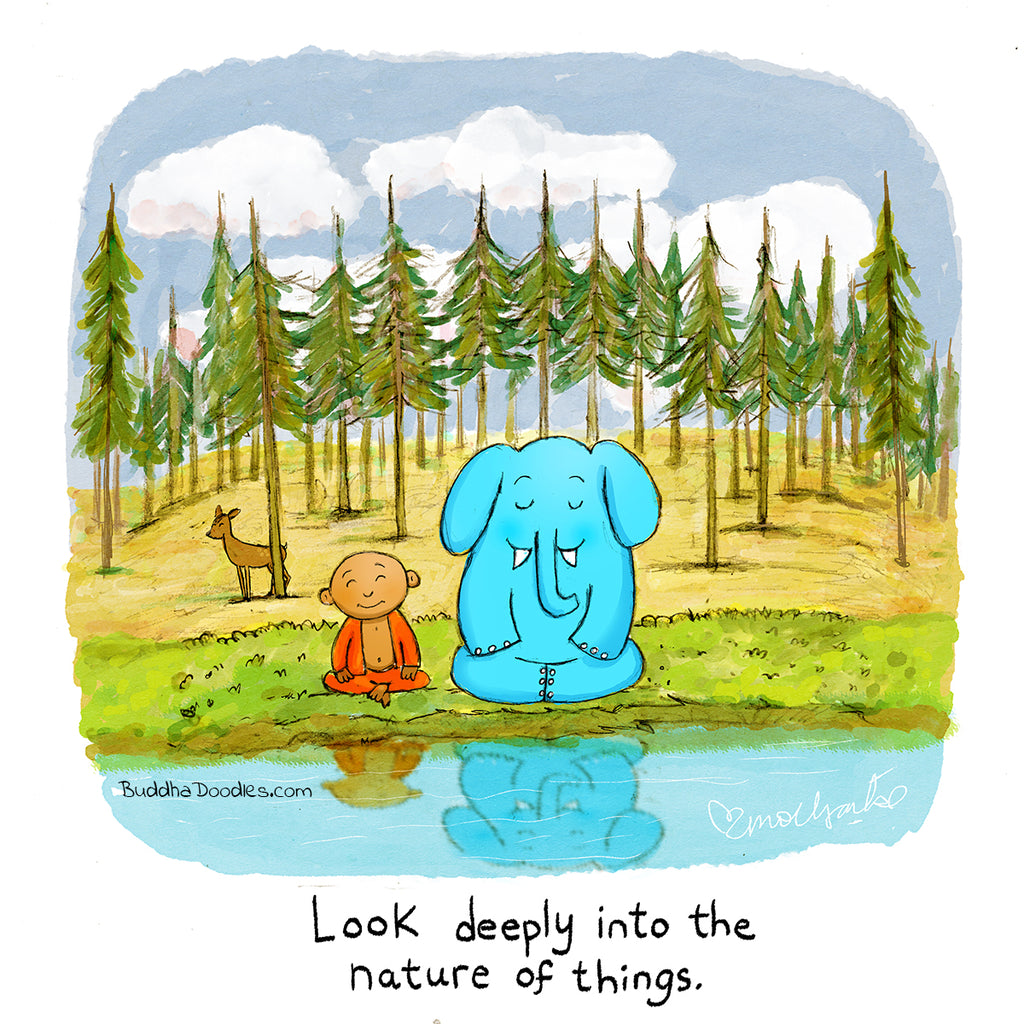 Today's Doodle: Look Deeply