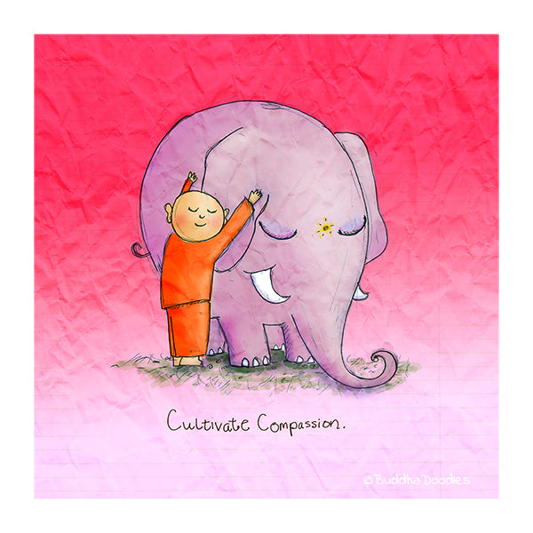 Today's Doodle: Cultivate Compassion