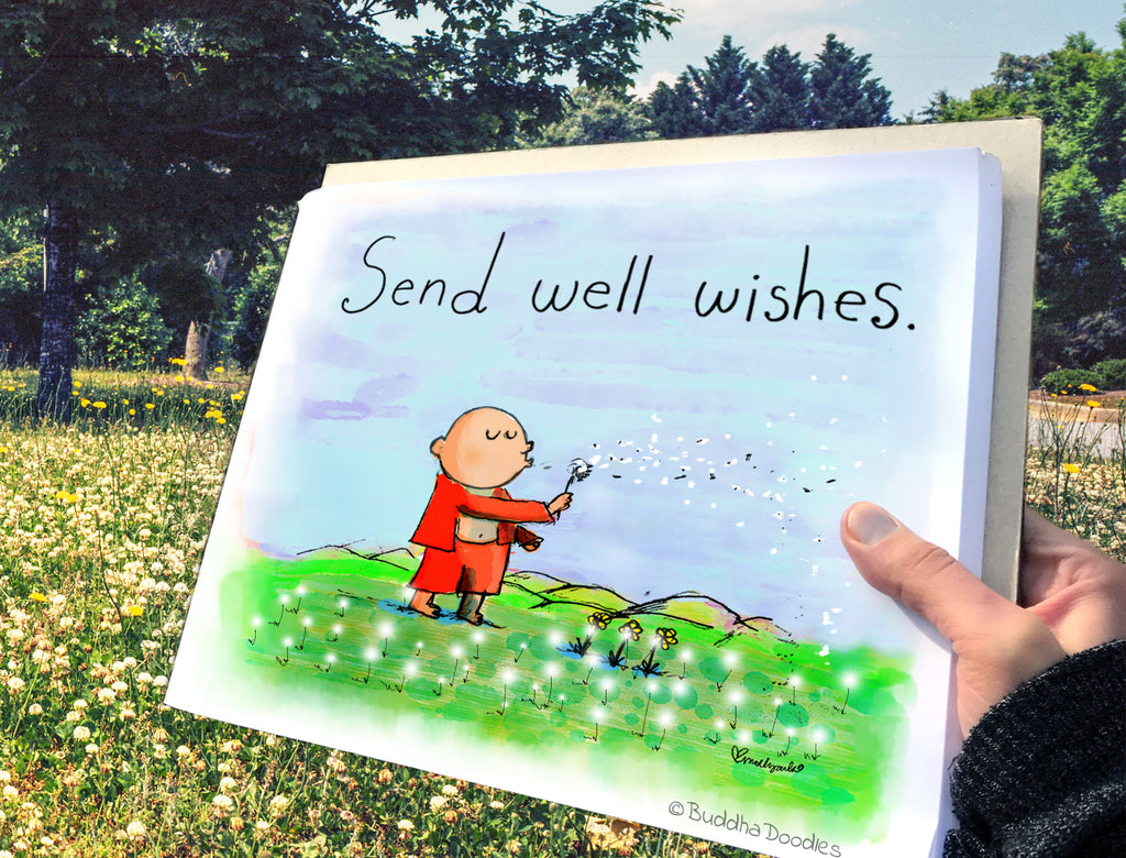 Today's Doodle: Send Well Wishes