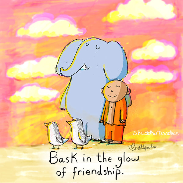 Today's Doodle: Bask in the Glow of Friendship
