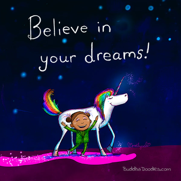 Today's Doodle: Believe in Your Dreams