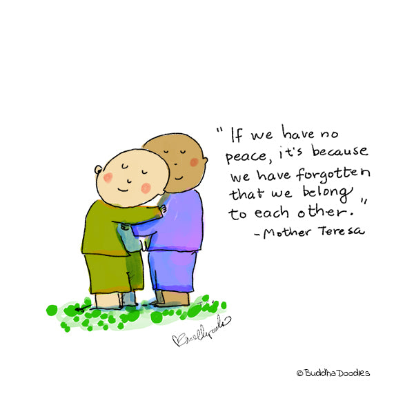 Today's Doodle: We belong to each other