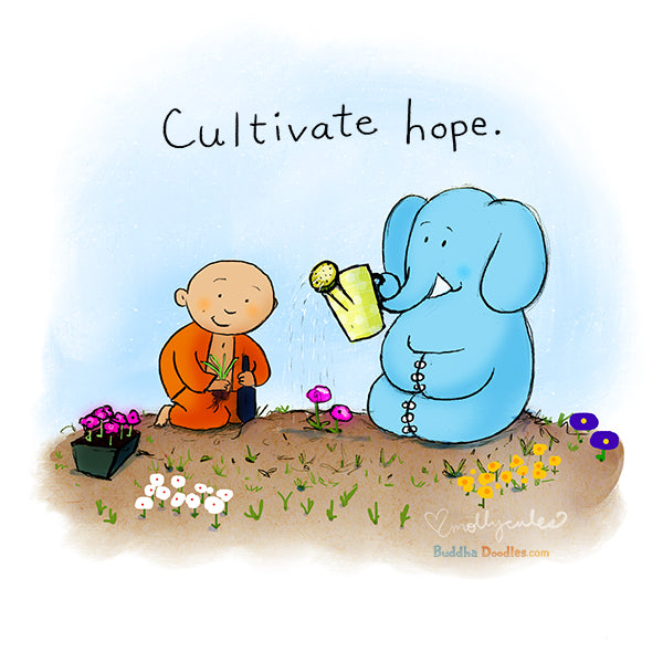 Today's Doodle: Cultivate Hope