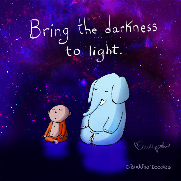 Today's Doodle: Darkness to Light