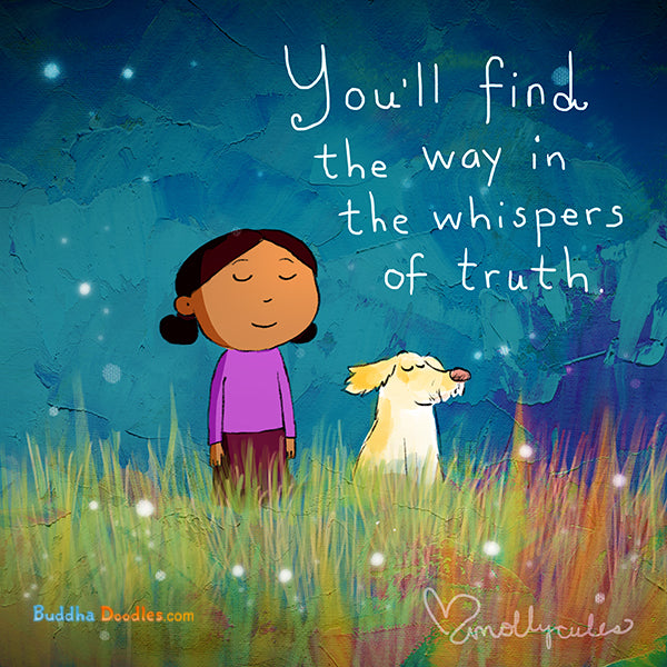 Today's Doodle: You'll find the way in the whispers of truth