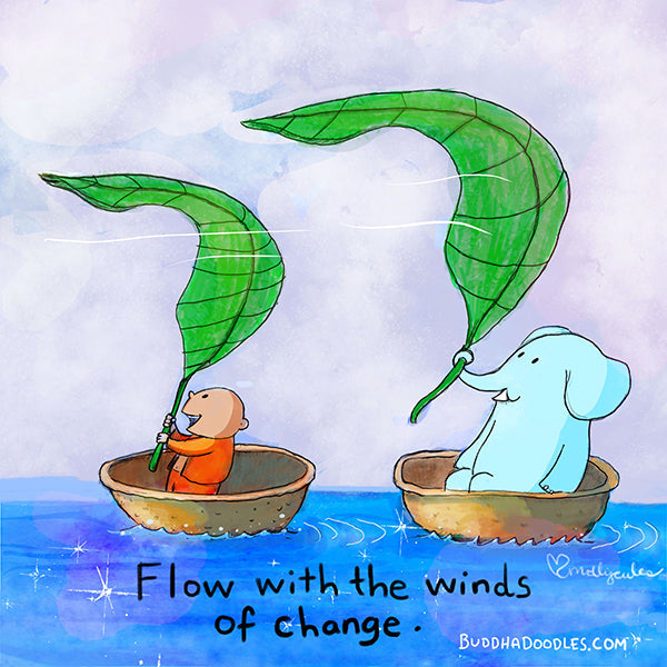 Flow with the winds of change