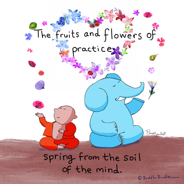 The fruits and flowers of practice