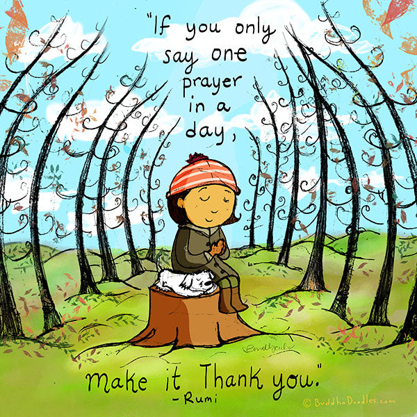 If you only say one prayer in a day...