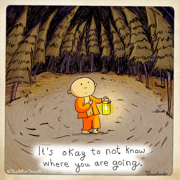 Today's Doodle: It's okay to not know where you are going