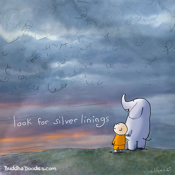 look for silver linings