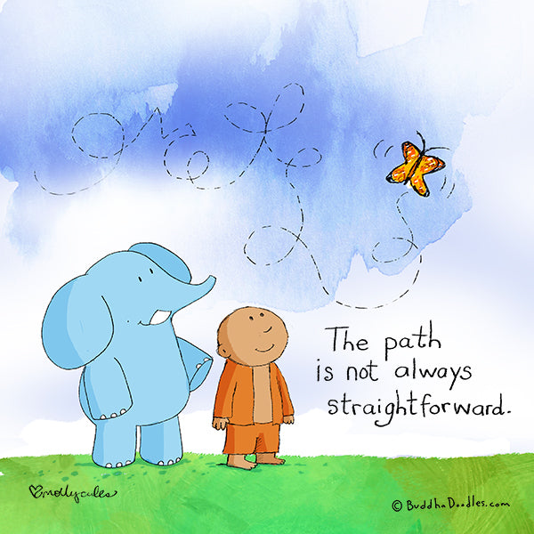 The path isn't always straightforward