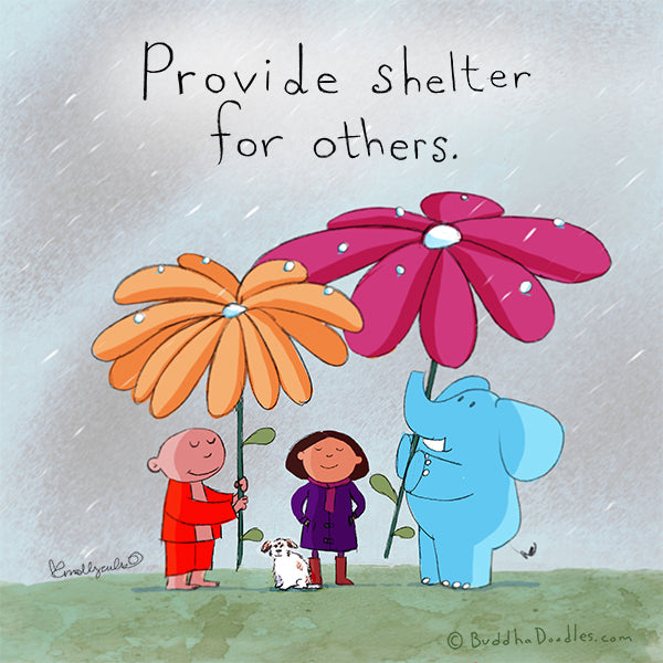 Provide shelter for others