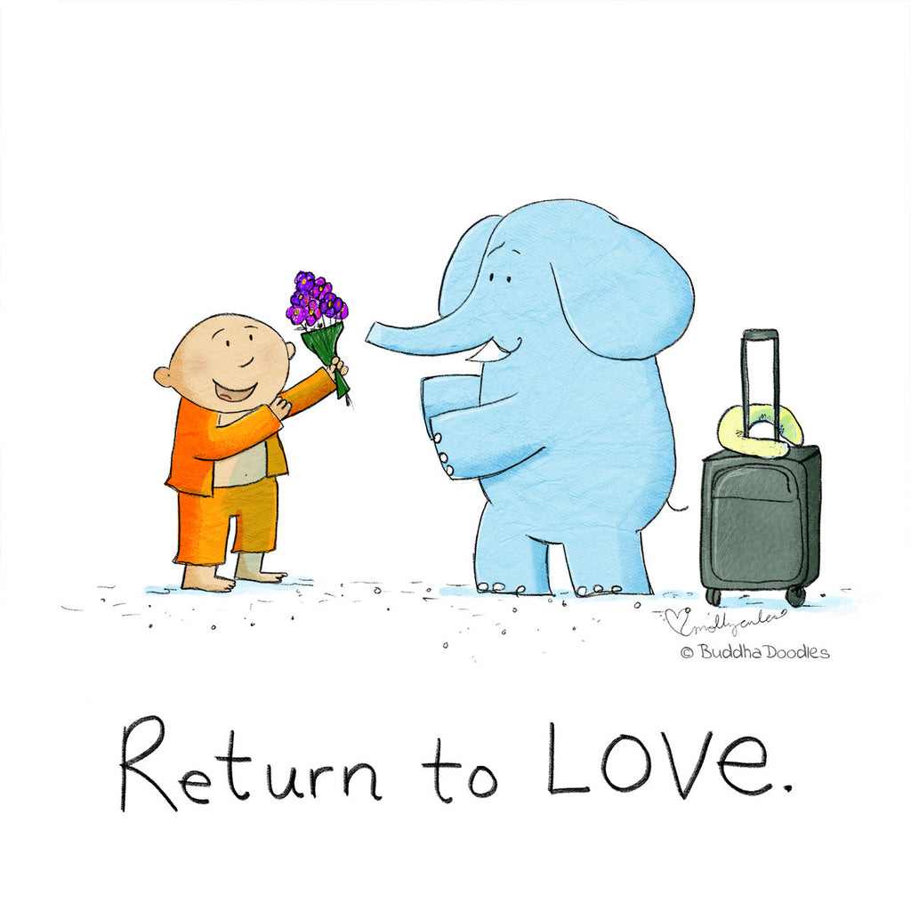 Today's Doodle: Return to LOVE