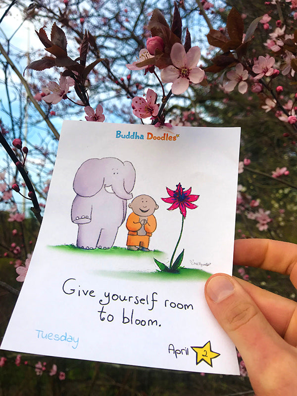 Today's Doodle: Give Yourself Room to Bloom
