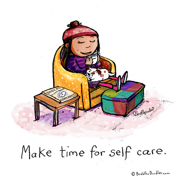 Make time for self care