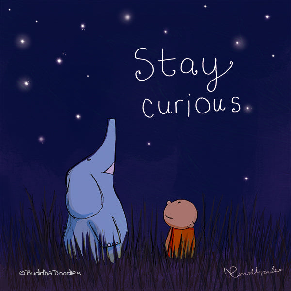 Today's Doodle: Stay Curious