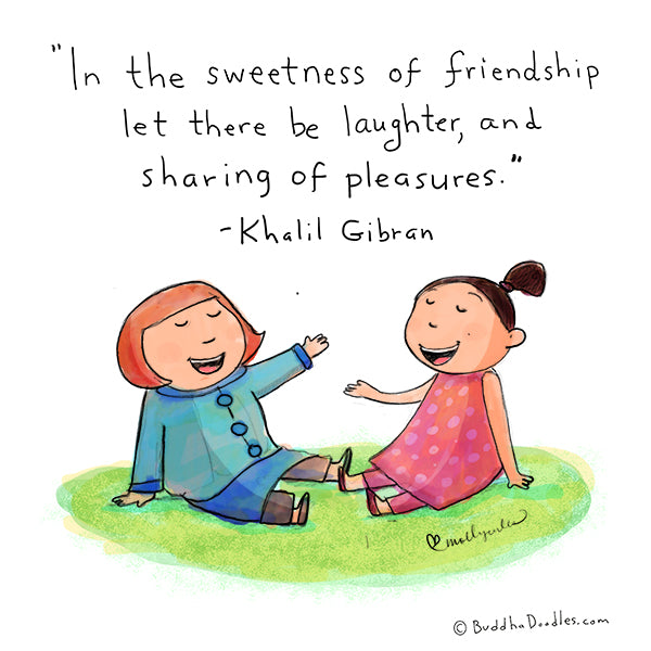 The sweetness of friendship