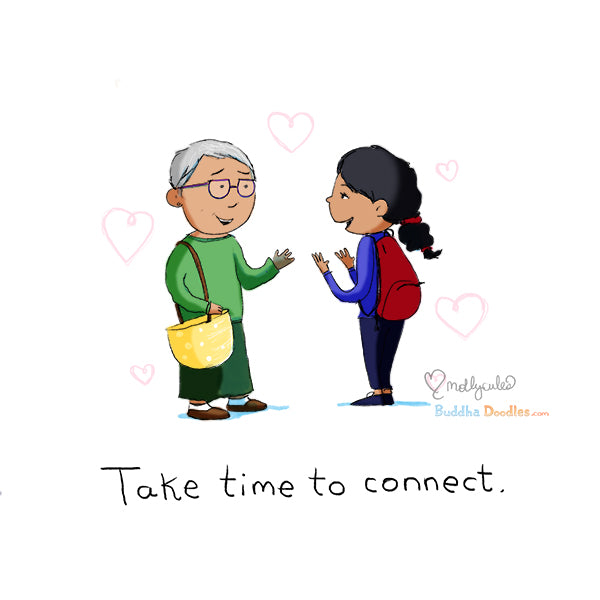 Today's Doodle: Take time to connect