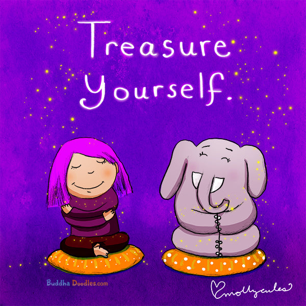 Today's Doodle: Treasure Yourself